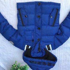 Diesel🍁🍂Waterproof winter jacket kids sz 4